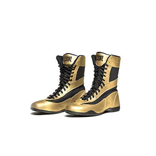 LEONE CL101 Stivaletti Boxe Legend Colore Oro Scarpe Pugilato