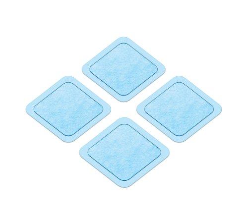 Beurer 64717 em 20 - sixpack - kit di ricambio adesivo e batteria per mini pad