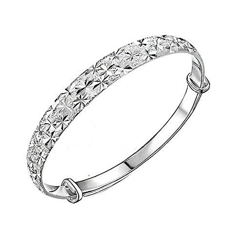 hosaire-pulsera-de-plata-de-cielo-estrellado-metal-ajustable-diametro-60-70mm-pulsera-de-cadena-de-m