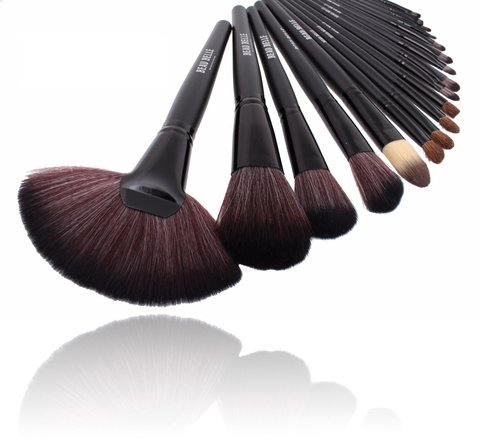 Beau Belle Pinselset - Pinselset Kosmetik - Pinsel Set - Make Up Pinsel - Make Up Pinsel Set - Make Up Bürsten - Make Up Brush Set - Makeup Brushes - Makeup Brushes Set - Professional Make Up Pinsel -Make Up Brush