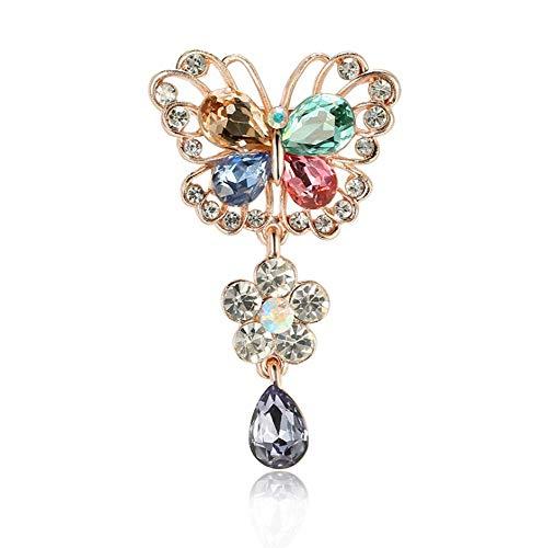 CFPPX Vielfütterischer Diamantenbrosche, für Geburtstagsgeschenke, Partys, Termine, -