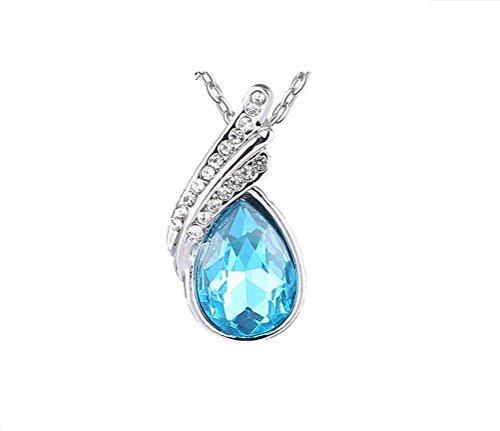 umi-full österreichischen Diamant Wasser Tropfen Kristall Halskette