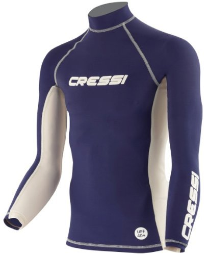 Cressi Herren Rash Guard Long-Shirt, Men's - Large (Herren Shirts Guard Rash)