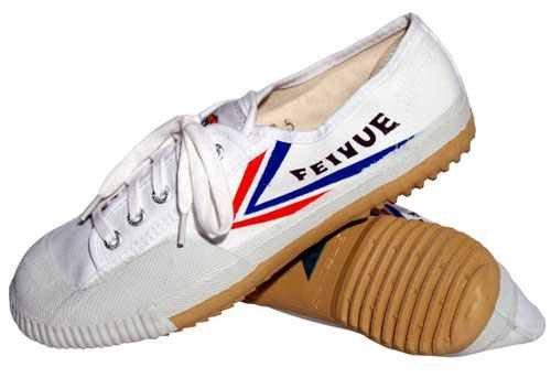 Feiyue, Scarpe da arti marziali uomo Bianco bianco, Bianco (bianco), 42 EU