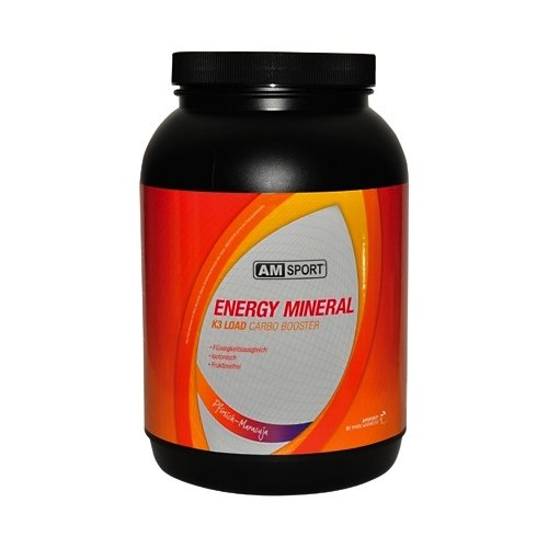 AMSport Energy Mineral K3 Load Carbo Booster Pfirsich-Maracuja 1700g - 100% Soja-protein-booster