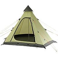 10T équipement d'extérieur étanche Melton Unisexe extérieur Teepee Tente Disponible en Vert–3Personnes