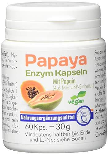 Pharma-Peter PAPAYA ENZYM vegetarische Kapseln, 60 Kapseln -