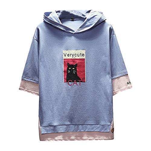 Herren Sweatshirt T Shirt mit Kapuzen Unisex Hoodie Teen Hip Hop Kapuzenpullover Männer Lose Jacke Pullover Langarm Hemd Langarmshirt Hoodies Hooded Longsleeve Club Crew Top Shirts