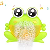 Ceepko Frosch Bubble Maschine Bad, Baby Musik Spielzeug Seifenblasenmaschine Machine Spielzeug, Für Badewanne Badezimmer Dusche Party Indoor Outdoor