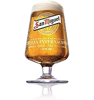 Personalised Engraved San Miguel 2020 Chalice Glass 130 Year Limited Edition Tropico Enter Your Own Custom Text