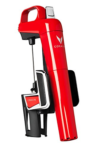 Coravin Model Two Elite Rosso Sistema di Mescita, Acciaio Inossidabile, 10.8x11.11x30.8 cm