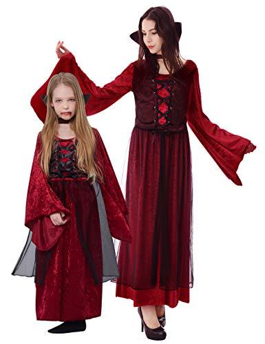 - Vampir Königin Kostüm Für Mädchen