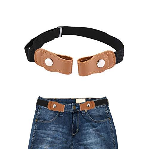 Volwco Elastischer Gürtel Kinder Unsichtbarer Gürtel Jeans Hosen Für Justierbar Stretchgürtel Dehnbarer Gürtel Für Baby Jungen Und Mädchen -