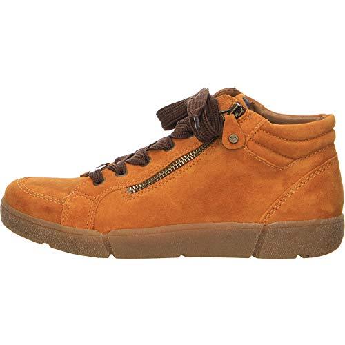ARA Damen ROM 1214435 Hohe Sneaker, Gelb (Curry 09), 40 EU