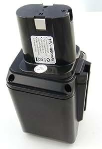 Batterie compatible pour Bosch GBM 12VE, GBM 12VES, GBM 12VESP, GSB 12VE, GSB 12VES, GSB 12VESP, GSR 12VE, GSR 12VES