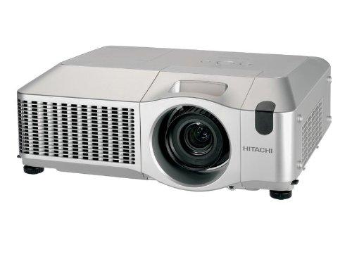 Hitachi CP X809 LCD Projektor (Kontrast 2000:1, 5000 ANSI Lumen, XGA 1024 x 768 Pixel, 4:3 Bildformate) mit Standardobjektiv