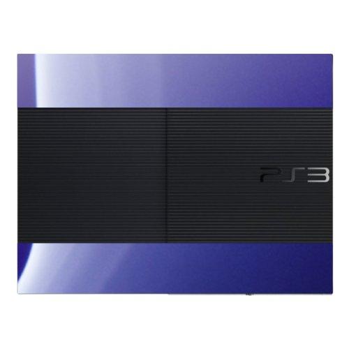 Disagu Design Skin für Sony PS3 Ultra Slim + Controller - Motiv Lila Nebel (Skin-lila Ps3 Controller)