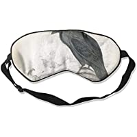 Sleep Eye Mask Black Crow Lightweight Soft Blindfold Adjustable Head Strap Eyeshade Travel Eyepatch E11 preisvergleich bei billige-tabletten.eu