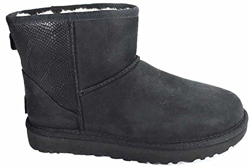 ugg-classic-mini-black-snake-37-in-pelle-