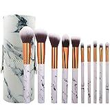 ZCLD 10 Unids | Set Pro Marbling Kit de Brochas de Maquillaje Marble...