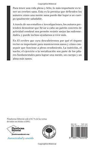 Opiniones del libro EL CEREBRO QUE CURA de Álvaro Pascual, Álvaro Fernández y David Bartrés
