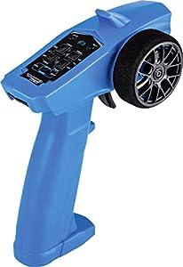 Carson 500500100 500500100 Wheel Start 2.4G - Radio para Coche (2,4 G, Incluye Accesorios, Control Remoto, Receptor, 3 Canales, Compatible con Tamiya Kit), Color Azul
