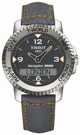 Tissot hombre t96147832T-Touch Navigator 3000reloj
