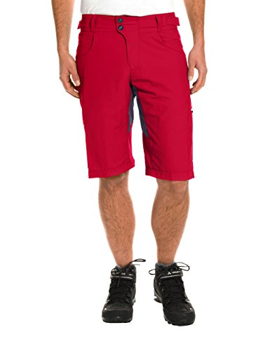 VAUDE Herren Hose Brand Shorts Indian Red