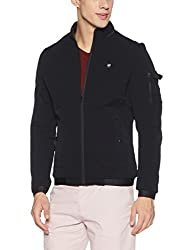 Fort Collins Mens Quilted Nylon Jacket (cs301 AZBlackL)