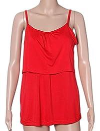 Amphia Premama Lactancia Vestido, Las Ligas Embarazadas Ropa de Maternidad Tops de Lactancia Camiseta de
