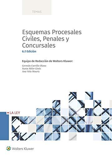 Esquemas procesales civiles, penales y concursales (6.ª edición) (Temas)