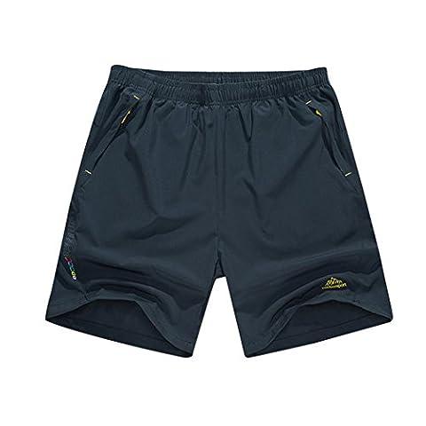 walk-leader séchage rapide Outdoor Sport Casual Pantalon randonnée Cyclisme imperméable pour homme - gris -