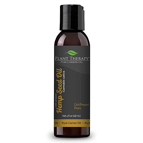 Aceite de semilla de cáñamo Carrier 4 oz un aceite base para la aromaterapia o masaje de aceites esenciales
