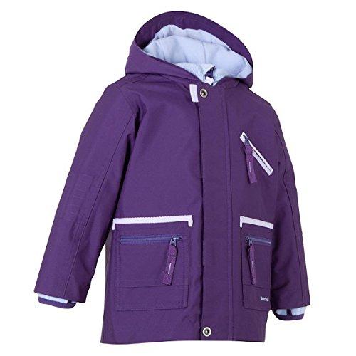 Preisvergleich Produktbild QUECHUA Arpenaz 3 in 1 Kinder Wanderjacke, Übergangsjacke, Jacket Lila, Gr. 68-76 / 9-12 Monats