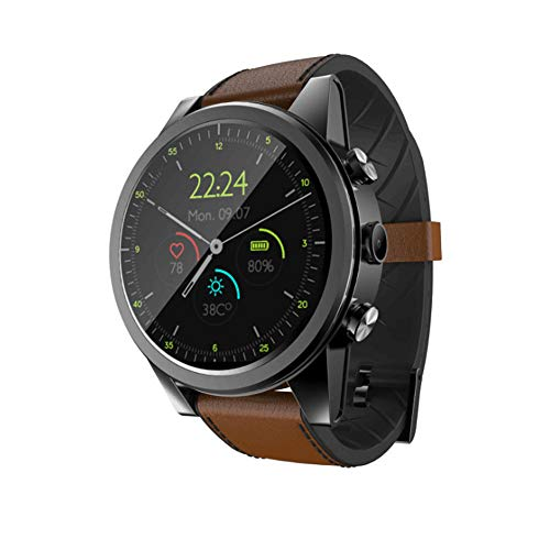 Everyday Fashion:Touch + Taste Smart Watch, voll Netcom/Mobile/Unicom/Telecom Anrufe / 3 + 32G / Kamera/GPS, Sport Smart Watch, Schwarzbraun -