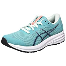Asics PATRIOT 12, Women's Competition Running Shoes, Techno Cyan Magnetic Blue, 4.5 UK (37.5 EU)