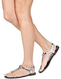 next Femme Sandales De Plage En Plastique Souple Standard