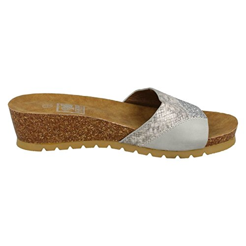 Down To Earth , Mules femme silver