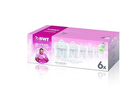 BWT L0814336 Pack de 6 cartouches filtrantes Compatibles Brita Maxtra