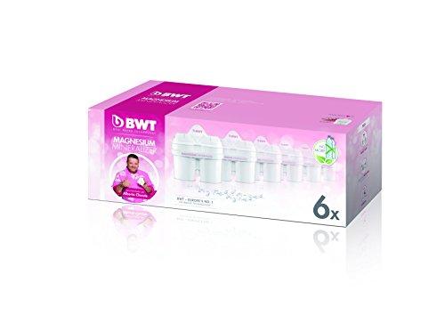 BWT L0814336 Filterkartuschen, passend für Brita Maxtra, 6Stück