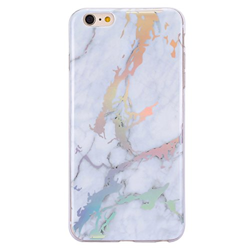 Custodia iPhone 6 Cover iPhone 6S Marmo Colorato SainCat Cover