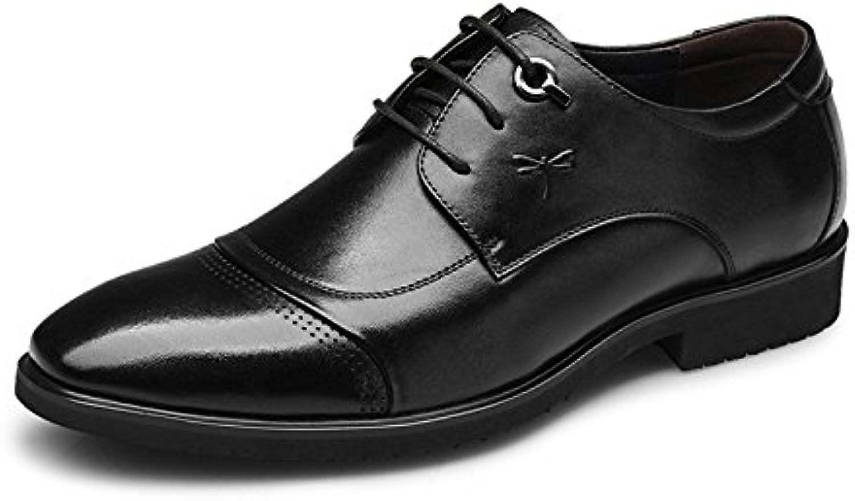 Los hombres jóvenes Aemember'S trajes de vestir zapatos, zapatos de hombre negro,44,  -
