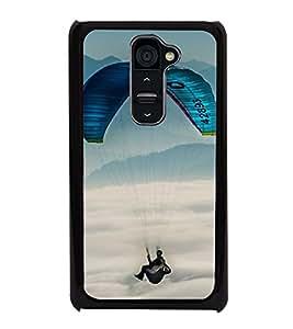 Paragliding 2D Hard Polycarbonate Designer Back Case Cover for LG G2 :: LG G2 D800 D802 D801 D802TA D803 VS980 LS980
