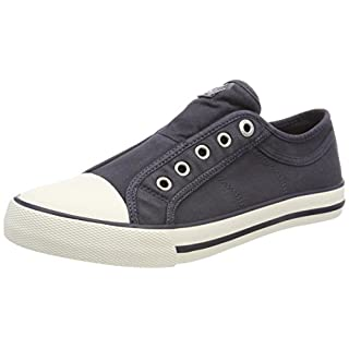 s.Oliver Damen 24635 Sneaker, Blau (Navy), 40 EU