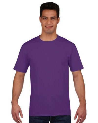 Gildan Premium T-Shirt für Männer (S) (Lila) S,Lila (Herren Lila Shirt Für)