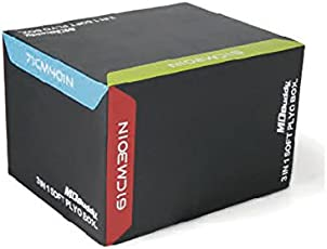 Energie fitness Imported 3 in 1 Plyo Box MD 6510 (Size 71*61*51)