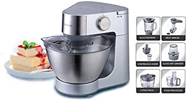 Kenwood Prospero Compact Kitchen Machine Stand Mixer 900 W 4.3 L, KM287, Silver, 1 Year Brand Warranty