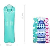 XQ PVC Material Wassereinspritzung Heißwasserbeutel Streifen Warmwasserbehälter Explosionsschutz Warme Hände Hot... preisvergleich bei billige-tabletten.eu