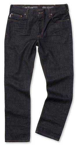 Preisvergleich Produktbild Slim Fit Straight Leg Jeans - Farbe: Clean Rinse - Größe: W42/L32