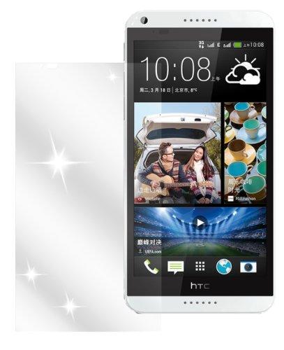 Ecultor I 6x Schutzfolie klar passend für HTC Desire 816 Folie Bildschirmschutzfolie